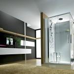 Nowoczesny prysznic - szybka i oszczędna kąpiel