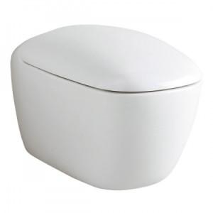 Keramag Citterio Miska WC wisząca 56 x 36 z deską wolnoopadającą 203550+573500