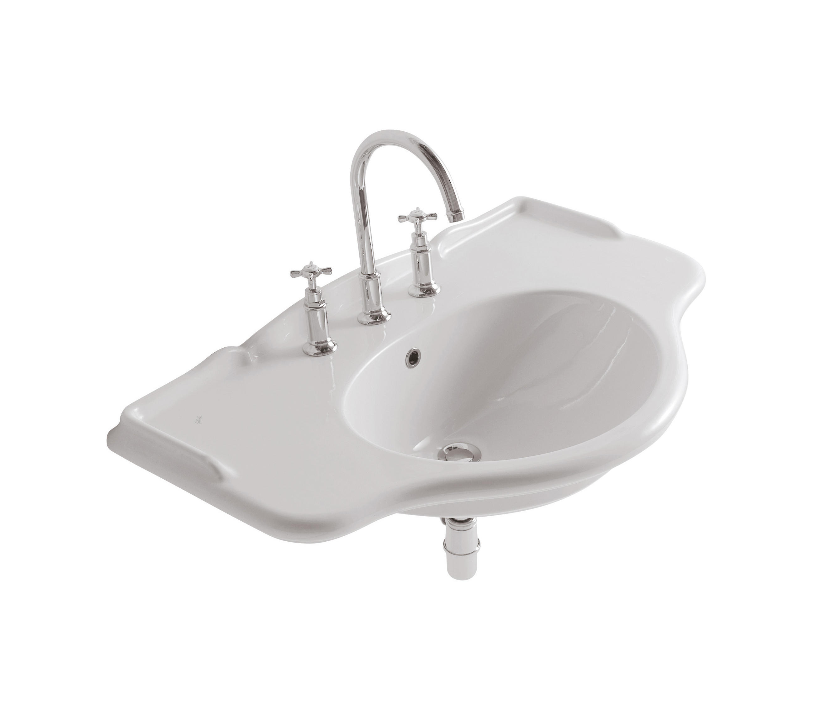 Genialne umywalki retro
